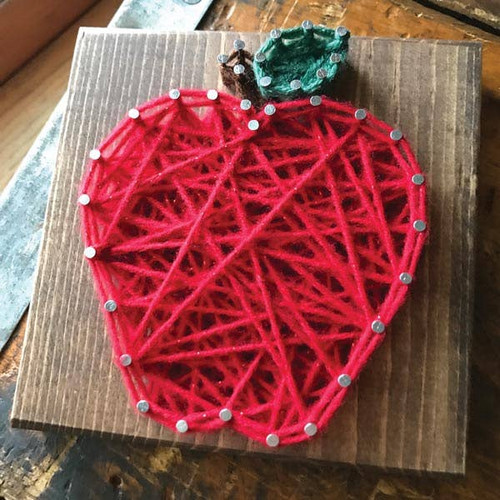 Apple Mini String Art Kit - DIY