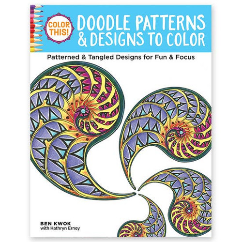 Doodle Patterns Coloring Book