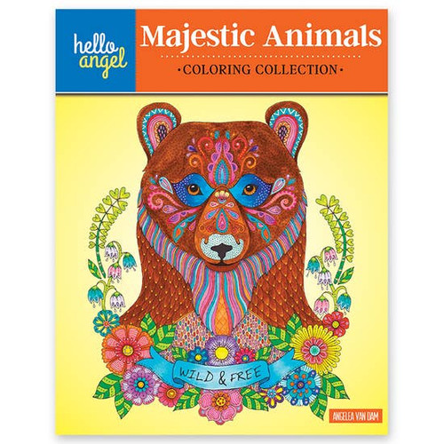 Majestic Animals Coloring Book