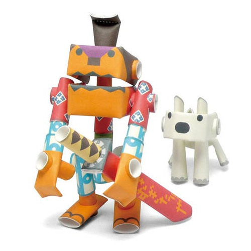 Piperoid Samurai & His Dog