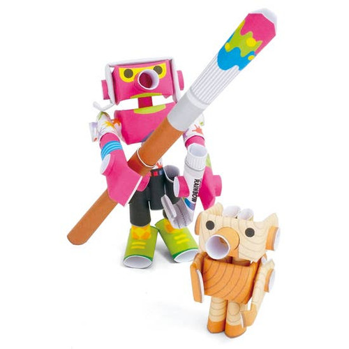 Piperoid Andy & Pino paper craft