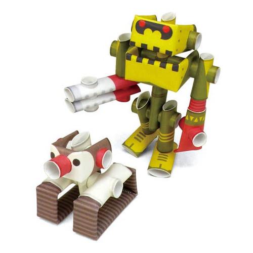 Piperoid Professor & His Robot