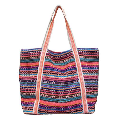 Bright Stripes Tote Bag