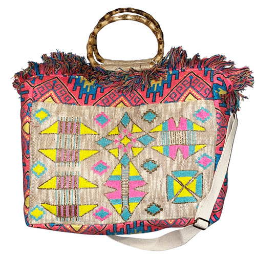Arizona Fringed Tote Bag