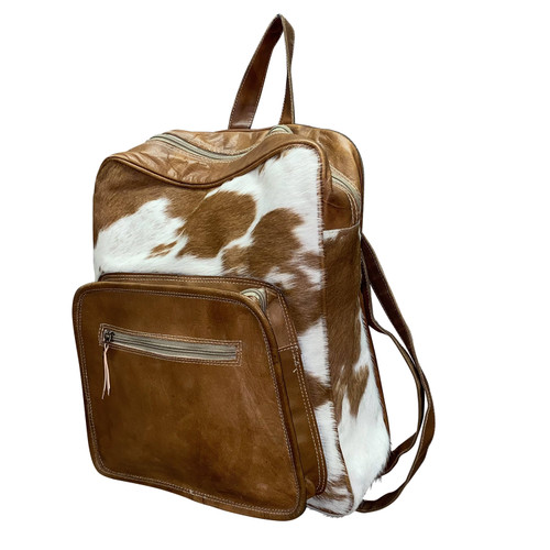 Leather Hide Backpack