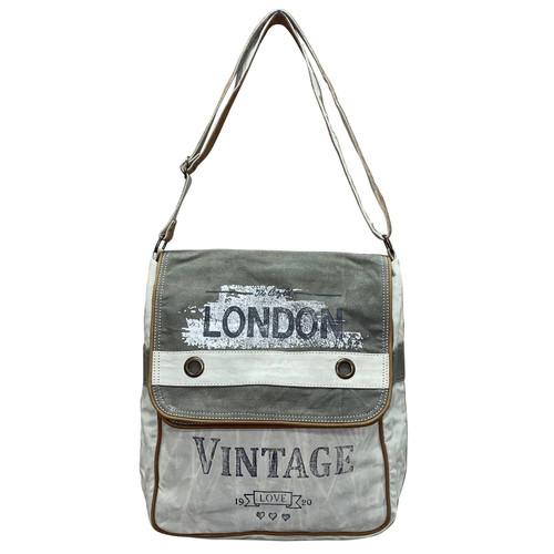 Double Flap London Crossbody Bag