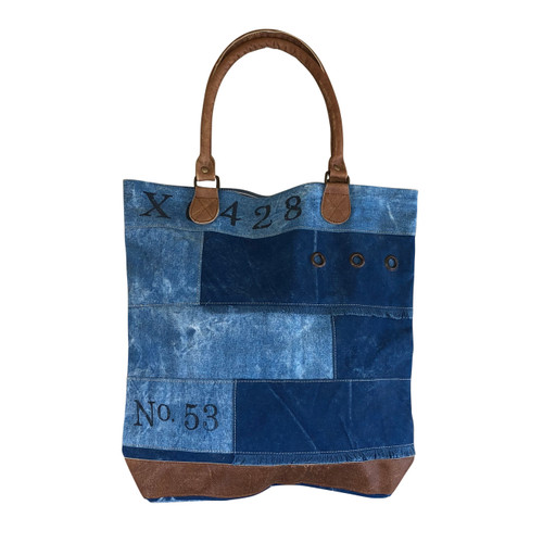 Patch Stripes Tote