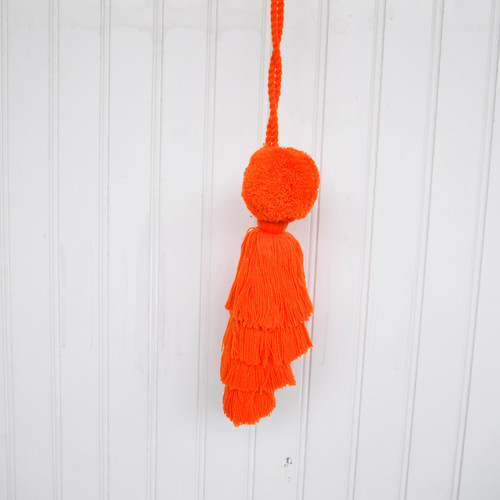 Orange Tassel