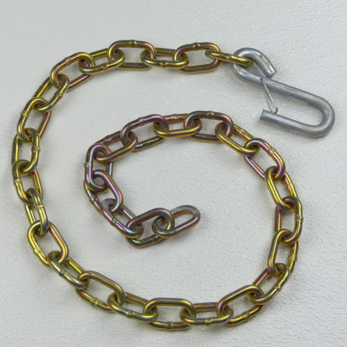 Safety Chain and Hook, Length