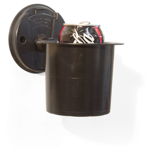Catch Cover Multi-Flex Cup Holder w/Quick-Disc wall mount  The Catch Cover Quickdisc Cup Holder securely holds all cans, bottles, and koozies. Also makes a handy minnow container!  Includes QuickDisc Wall Mount and is interchangeable with Multi-Flex Rod Holders and Rattlesnake Reels.  Vendor part #MF03 UPC # 855305002620 MSRP $19.99 Case Qty 6