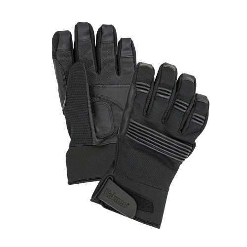 FEATURES ▼INSULATED 60gm 3M Thinsulate™ FLEXIBLE, DURABLE FABRIC NEOPRENE ADJUSTABLE CUFF FLEXIBLE, FAUX LEATHER KNUCKLE REINFORCEMENT ◄5K/5K WATERPROOF/BREATHABLE RATING Waterproof/breathable glove insert to keep hands dry. LOW-BULK CLOSE FIT SPECS Fabric	Durable Rib Knit Polyester DWR	Yes Fabric Waterproof/Breathable Rating	5k / 5k Insulation	60gm 3M Thinsulate™ Warranty	1-Year-Limited Source	Imported