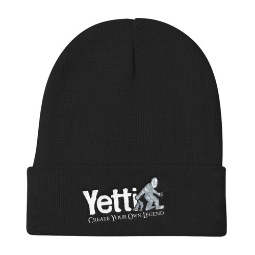A comfortable, warm knit beanie.  • 60% cotton/40% acrylic