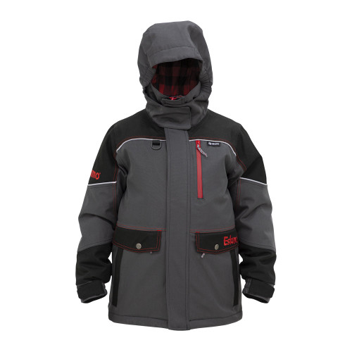 Youth Keeper Jacket $129.99Size Guide  338940020113  Mom expects you to bring the kids home at the end of a long day of fishing, even if they do kick your phone down the hole. Your phone may not float, but your kids will thanks to the Eskimo exclusive Uplyft™ Breathable Flotation Assist technology. Best of all, the Keeper Jacket will keep them warm and dry for a full day on the ice. Less complaining and happier kids means money well spent.
