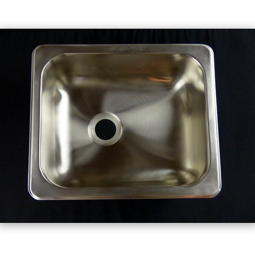 These single bowl stainless steel kitchen or bath sinks are suitable for RV and Fishhouse installation.  Strong and sturdy.  These do ship without installation hardware, hence the reduced price.