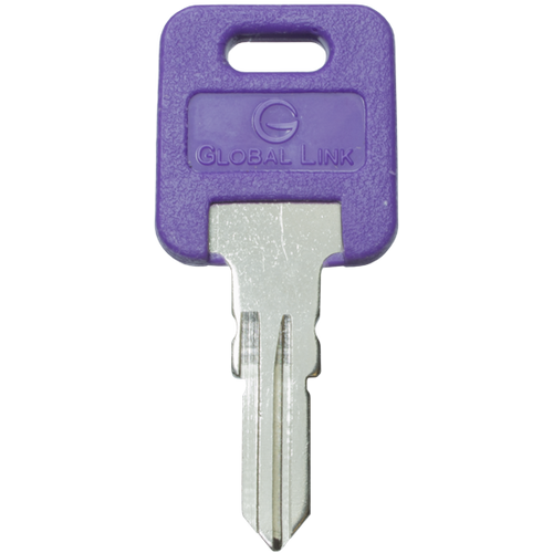 RV Lockset Replacement Key