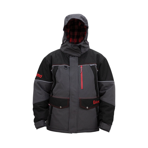 Men's Keeper Jacket  MSRP: $219.99  315290023811  The purpose built Keeper series features the exclusive Eskimo Uplyft™ Breathable Flotation Assist system and a windproof/ waterproof 600 denier outer shell. The 80 grams of Thinsulate™ insulation will keep you warm in the cold and wind, yet allow a full range thanks to design details including strategically placed gussets and elastic stretch panels, and premium materials. This isn't just any old ice suit, try one on today to experience the difference for yourself.