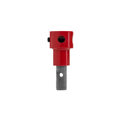 PISTOL BIT ADAPTER  MSRP: $29.99  SKU: 34677  If you can't decide between an electric, gas, or propane auger, this little adapter—paired with an Eskimo Pistol Bit™—will allow you to have all three. Use this to pair your Pistol Bit with any Eskimo powerhead, and you've got yourself an ultra-lightweight bit with the endless power of gas or propane.