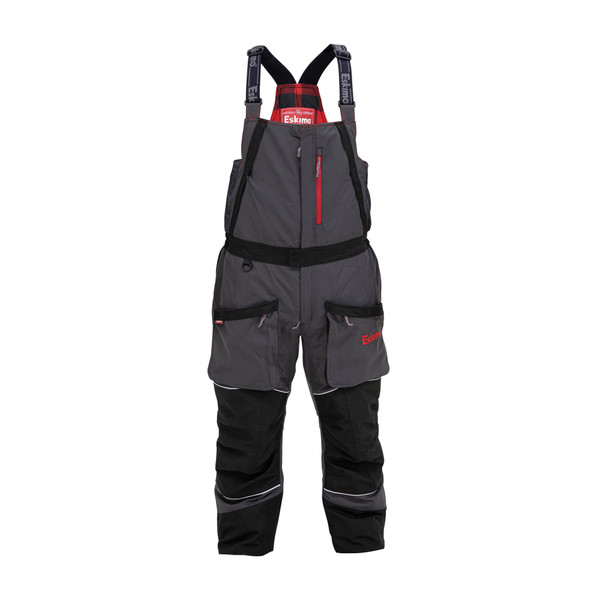 Men's Keeper Bibs $229.99Size Guide  315310024811  The purpose built Keeper series features the exclusive Eskimo Uplyft™ Breathable Flotation Assist system and a windproof/ waterproof 600 denier outer shell. The 80 grams of Thinsulate™ insulation will keep you warm in the cold and wind, yet allow a full range thanks to design details including strategically placed gussets and elastic stretch panels, and premium materials. This isn't just any old ice suit, try one on today to experience the difference for yourself.
