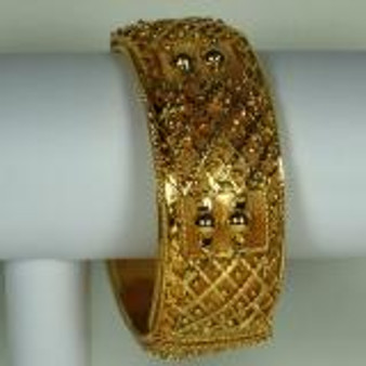 Bangle Golden 1 inch wide