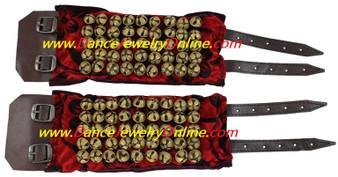 Ankle Bell 5 Line Velvet Ghungroo