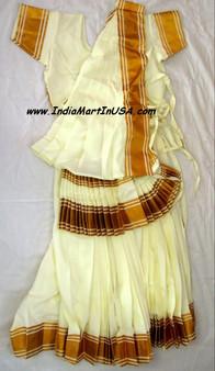 Mohiniyattam dance costume Readymade