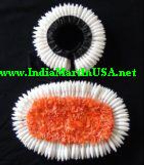 Plastic Hair Flower set for Bharathanatyam or Kuchipudi BLK70