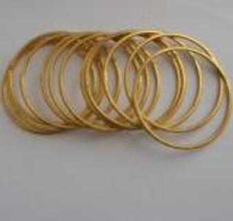 Bangles Micro Gold Plated GPJ60