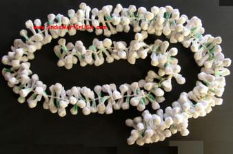 Paper Flower White Jasmine Gajra