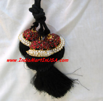 Hair Kunjalam Temple Jewelry Medium 3 line