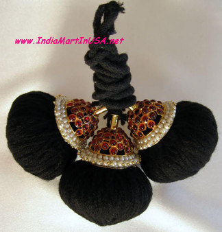 Round Kunjalam Temple Jewelry