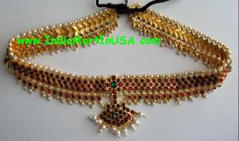 Oddiyanam Imitation Bharatanatyam Jewelry Belt 1186
