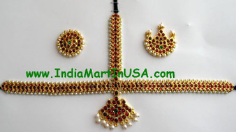 Imitation Temple Jewelry Head set CD74