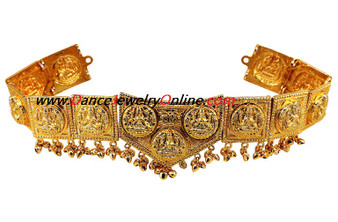 Dance Jewelry Golden Lakshmi Belt