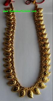 Long Manga Malai Gold Plated Jewelry-GP24IN