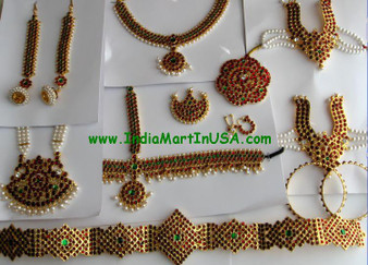 Dance Jewelry set Traditional Temple Jewelry GRN75