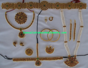Dance jewelry set Temple Jewelry SLIM64