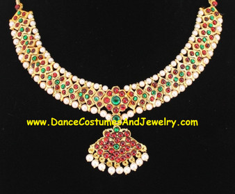 temple jewellery choker