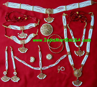 Art Pearl Temple Jewelry Dance Set PL70