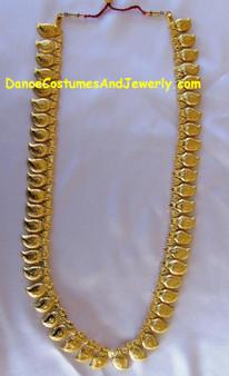 Long Manga Malai Gold Plated Jewelry-GP28IN