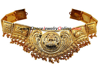 Golden Lakshmi Belt for Indian classical dance
