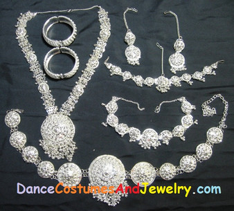Odissi dance jewelry set ST04