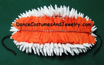 Paper Hair Flower for Bharathanatyam or Kuchipudi OR30PR