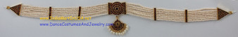 Artificial pearl oddiyanam Jewelry belt