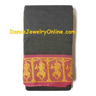 Dance practice saree
