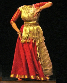 Traditional Kathak Costume