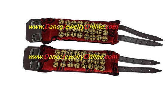 Ankle Bell 3 Line Velvet Salangai