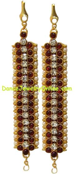 Ear Chain Imitation Bharatanatyam Jewelry ITJ86