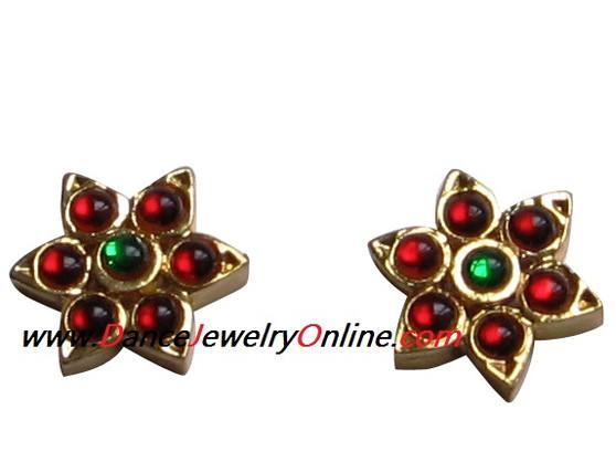 Ear Stud Imitation Temple Jewelry ITJ43