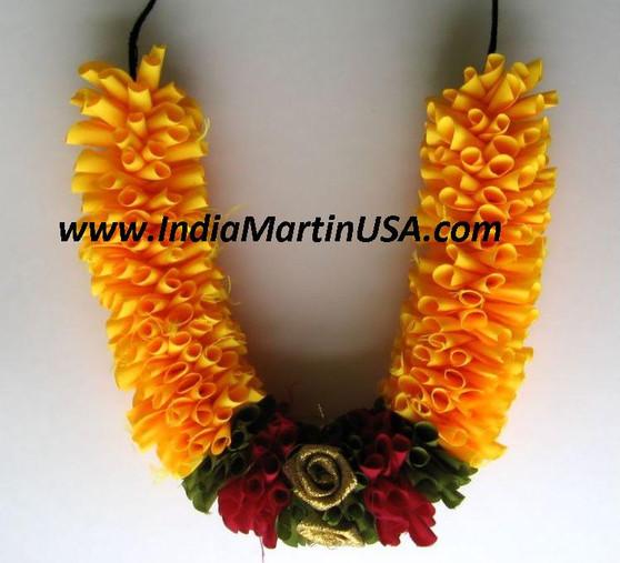 Cloth Flower Orange or Dark Yellow OR75