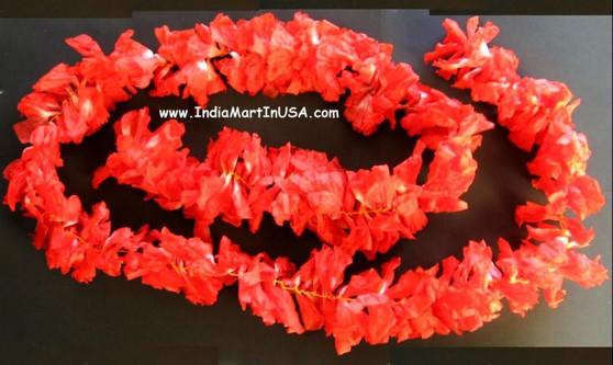 Paper Flower Orrange Kanakambar